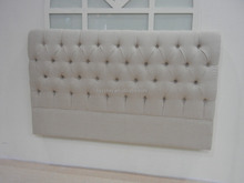 French style button headboard queen size bed frame headboard