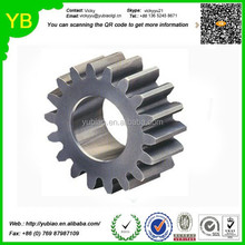 OEM High Quality Precision CNC Machining auto gears,warm gears for slush machines