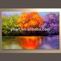 venta al por mayor de colores hechos a mano paisaje pinturas al óleo