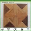 Teak water resistant wood parquet flooring
