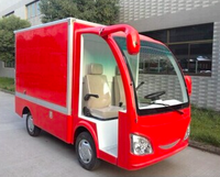 Good-performance China manufacturer mini 4 wheel 2 seats electric car cargo van