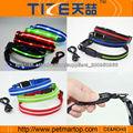 Collar de perro luminoso recargable con luz intermitente collar de perro llevado TZ-PET6100U