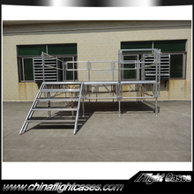 High Quality TUV Modular Aluminum Outdoor Stage for Concert Truss Display