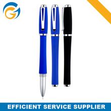Blue Color Ball Point Pen with Cap Metal Clip