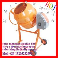 180L kingdia Small Portable Manual Cement Mixer for sale!!!
