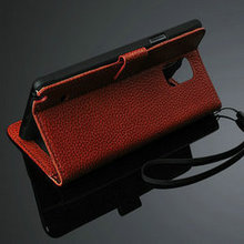 Mobile credit card case, phone accessories leather wallet Case for samsung galaxy note 4,for samsung note 4 leather case