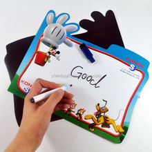 oem custom cheap price children dry eraser magnetic writing board, magnetic white board with marker