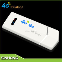 DL 100Mps UL 50Mbps Data Transmission Rate USB Interface Type FDD LTE 4G Wireless Data Card