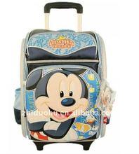 2012 hot school trolley bag backpack