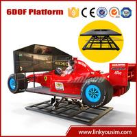 2015 electronic game machine new technology product simulator arcade racing car game machine