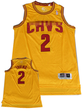 New fabric 100% polyester mesh Best Quality Cavs basketball jersey for Irving