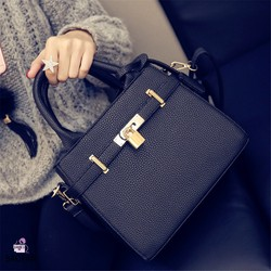 10 years anniversary promotion! Model no.B-605 Fashion lady women pu leather tote bag wholesale in china
