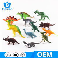 Hot selling soft plastic dinosaur toys for toddlers, dinosaur toys from China toy manufacturer