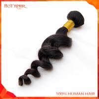 Top virgin Indian Hair Extension Loose Wave 3pcs 8''-30'' Mix Indian Virgin Hair Weave Cheap Remy Human Hair Extension