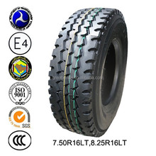 2015 best chinese brand truck tire light truck tyres 7.5-16