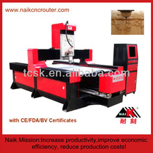 Professional 4-axis CNC 3D stone engraving machine