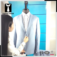 Made to measure slim fit men's suits for 2016 New Collection