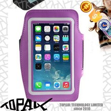 Luxury funky mobile phone bag armband for iphone 6