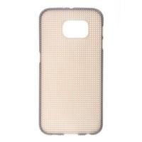 Mobile phone case cross stitch TPU Mesh case for Samsung galaxy S6