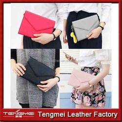 Luxury Smart Clutch pouch handbag design wallet case cover case for Apple iPad Mini 2