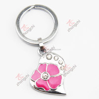 Cheap promotional gift metal material custom key chain