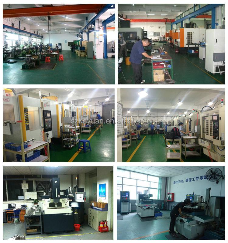 Shenzhen precison brass service d'usinage
