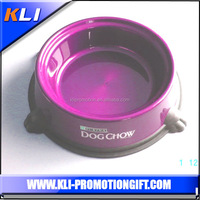 Claw shaped rubber dog bowl magnetic pet bowl