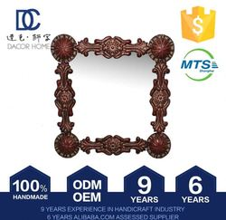 Quick Lead Customizable Low Cost Standing Floor Antique Front Surface Mirror Frames Roughness