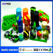Hot selling !!! colorful non-stick and flexible silicone container