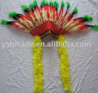 feather indian headdress