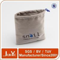 High quality knitting velvet phone pouch for smart phone