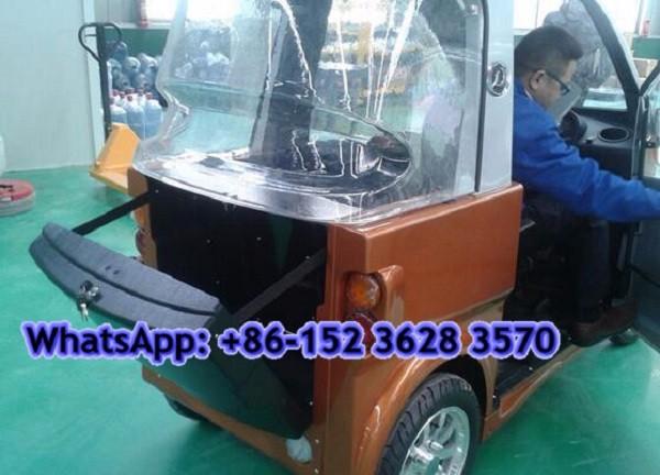 Électrique de voiture, adulte électrique de voiture, 3 places voiture électrique avec l6e cee certificat