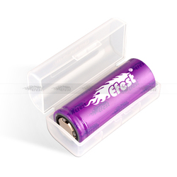Colorful plastic 18650 battery holder wholesale battery carrying case portable single 18650 battery case