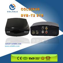 hd Internet Sharing dvb-t2/dvb-t2 decoder Set Top Box/dvb t2 dvb-c set top box