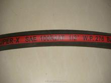 High intensity two steel wire braid soft hydraulic rubber hose