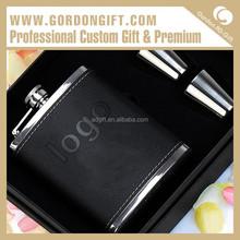 Modern Customized High Quality HF-046 Good Quanlity Black Hip Flask Guangzhou Factory
