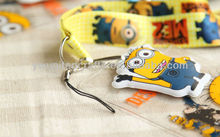 2013 New Minions Toy Lanyard Despicable Me Type Lanyards