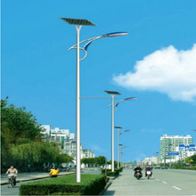 IP65 Bridgelux led chip high brightness 7M 60W china factory outdoor solar lighting price more than 110-130lm/w