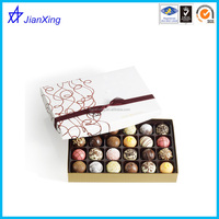 Packaging boxes chocolate chocolate truffles