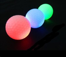 Wholesale LED golf ball manufacturer wholesale multi-color flashing led golf ball