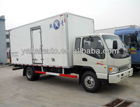 New mini van truck with cooling system