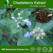 GMP Factory Chasteberry extract , chaste tree berry extract,Vitex agnus-castus.