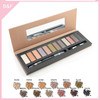branded eyeshadow makeup palettes fashion cosmetic eyebrow brush set