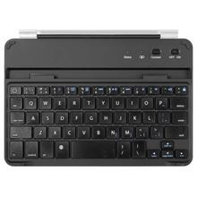 Popular multimedia Bluetooth Keyboard Case Aluminum Cover For iPad Mini / mini 2 / mini 3