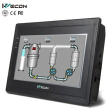 Wecon 7 inches tft lcd color monitor hmi rs485 extended automation product