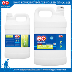 waterless wax removal cleaning agent