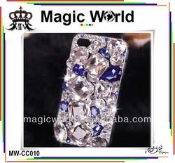 luxury bling rhinestone diamonds hard case cover for iphone 4s