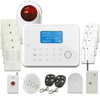 2015 Best! Touch GSM PSTN wireless home security alarm, Self monitoring GSM alarm system wireless with Contact ID