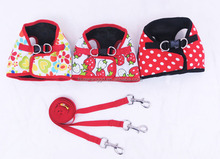 Cute comfortable cat harness and lead in set