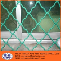 Green pvc coated guarding wire mesh with high quality and reasonable price in store